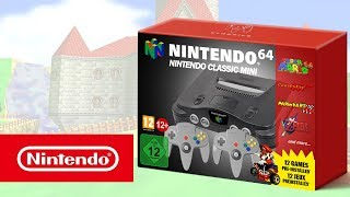 Nintendo Classic Mini: Nintendo 64 - Features Trailer | Concept