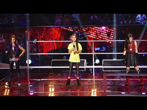 Eve, Belinda Jo and Adina Sing Wings | The Voice Kids Australia 2014