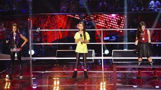 vuclip Eve, Belinda Jo and Adina Sing Wings | The Voice Kids Australia 2014