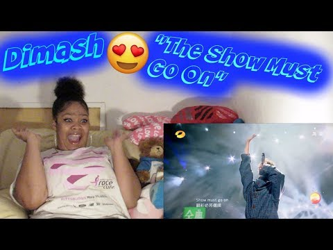 Dimash- The show must go on Reaction Blown Away