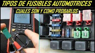 Tipos de Fusibles Automotrices y como Probarlos con y sin Multimetro thumbnail