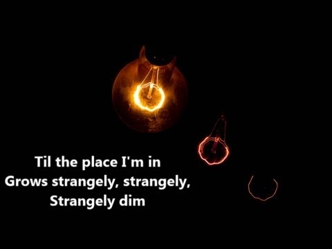 Strangely Dim- Francesca Battistelli- Lyrics