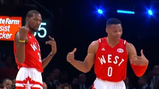 KD & Russell Westbrook: Best Moments Together