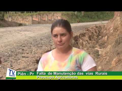 Falta de Manutenção nas Vias Rurais Preocupa Agricultores em Piên pr