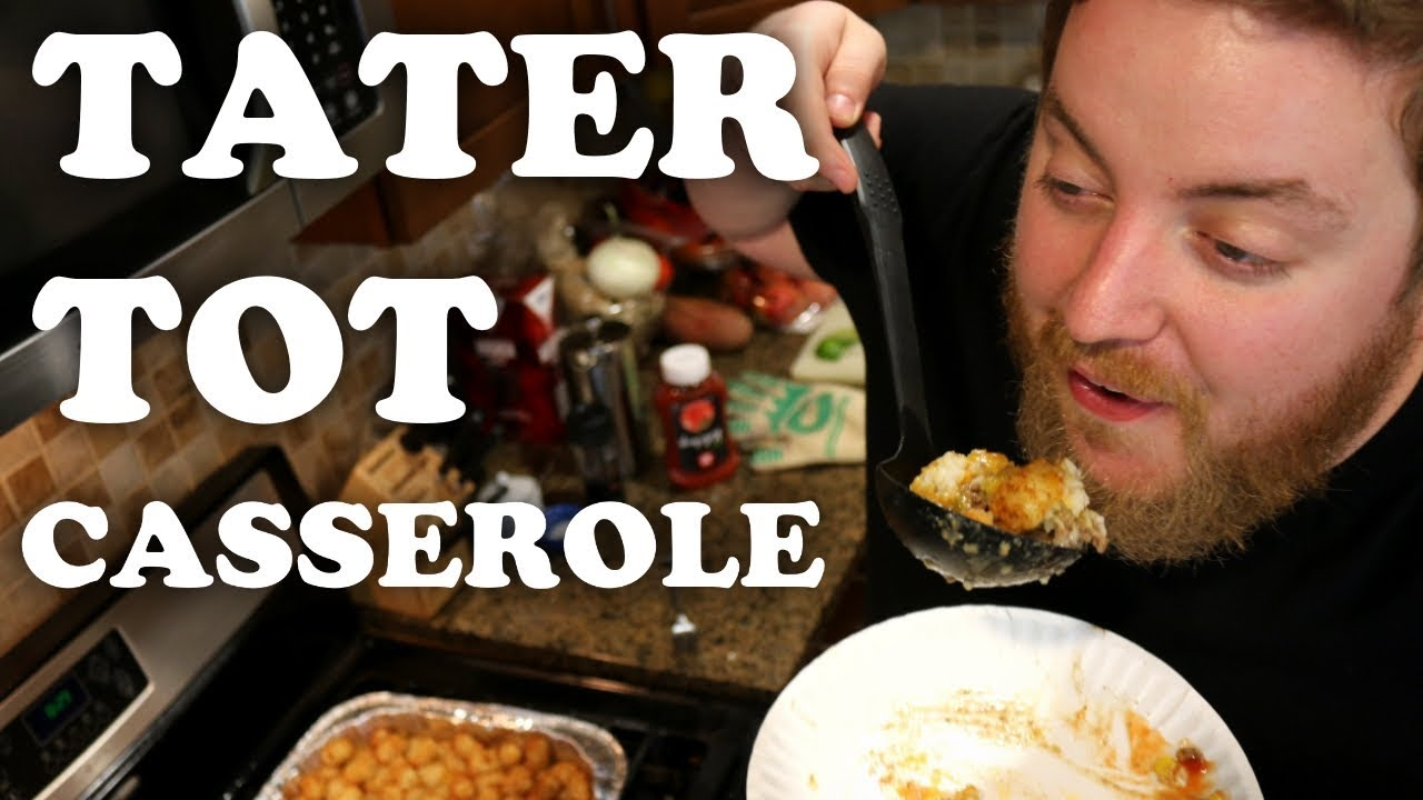 How To Make Tater Tot Casserole - YouTube
