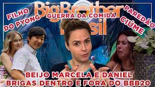 BBB20 - Marcela e Daniel, gravidez Manu Gavassi, ciúme e choro da Gizelly, Guerra da Comida