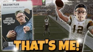 I MADE IT IN THE GAME!! - YOBOY PIZZA - Madden 19 Ultimate Team