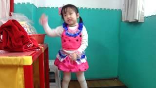 湘湘3歲7個月唱跳