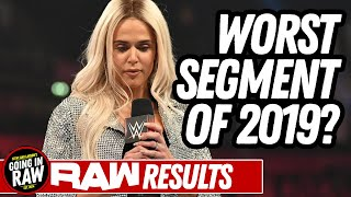 Lana Pregnant: Worst Segment Of 2019? WWE Raw Review & Full Results | Going In Raw Podcast
