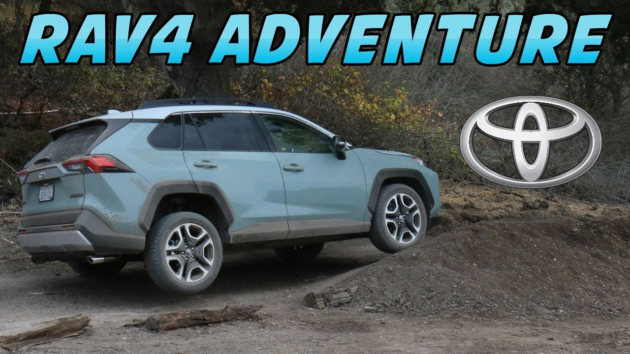 2019 Toyota Rav4 Adventure Model Review First Drive Youtube