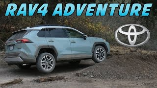 2019 Toyota RAV4 Adventure Model - Review & First Drive