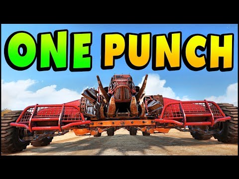 Crossout - Hilarious ONE PUNCH Builds - RAM Builds (Crossout Gameplay)