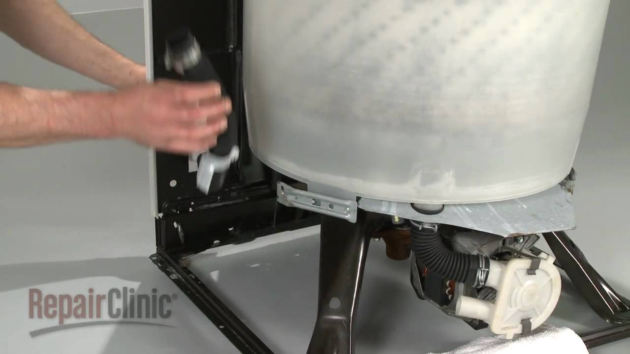 Washer Drain Hose Replacement  How to Repair Whirlpool