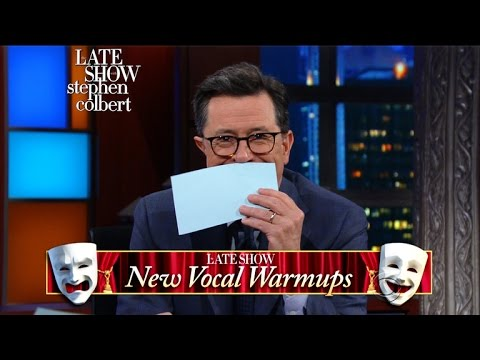 Download Youtube: Allison Janney Tries The Late Show's 'New Vocal Warm-Ups'
