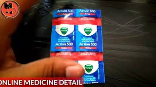 Vicks Action 500 Extra Tablet Detail