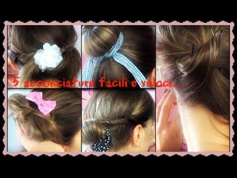 5 ACCONCIATURE FACILI E VELOCI (ft Merya 8 )