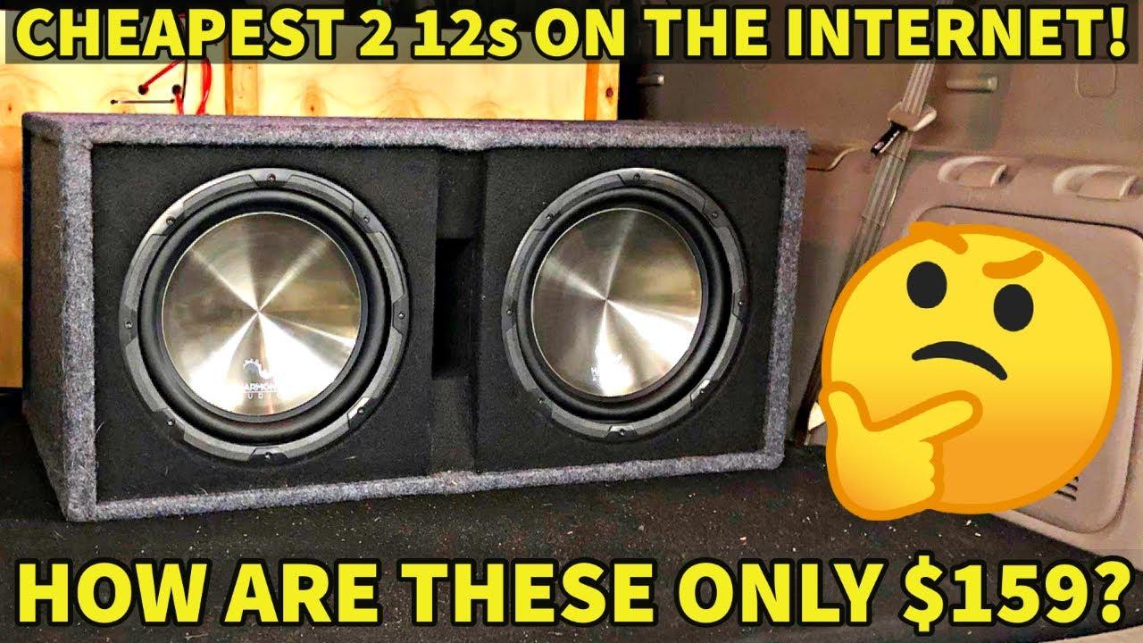 How Bad is the CHEAPEST Dual 12 Setup? *BIG LETDOWN* Harmony HA-RD12
