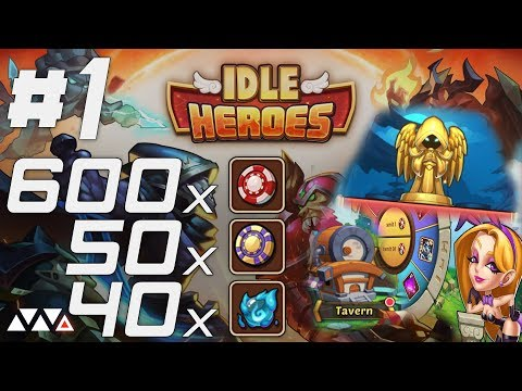 HOW YOU SHOULD DO CASINO EVENTS in Idle Heroes | 600x Chips + 50x Super Chips + 40x Orbs!