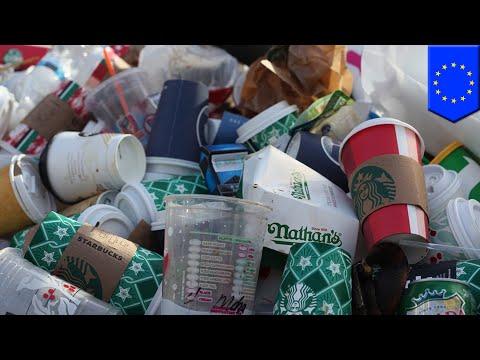 European Parliament Backs Law Banning Single-use Plastics - TomoNews
