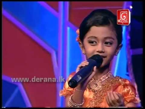 Little Star Season 05 - Savindi Senaliya | 12-01-2012 Song 01