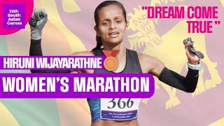 DREAM finish in the Women's Marathon - South Asian Games 2019
