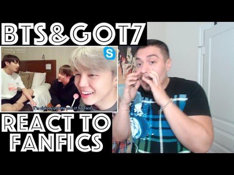 KPOP Idols (BTS and GOT7) React to 18+ Fanfics REACTION