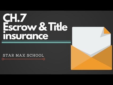 California Real Estate Principles Escrow & Title Insurance - Chinese English Lecture
