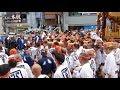 【深川八幡祭り】二の宮神輿渡御 三部会 の動画、YouTube動画。