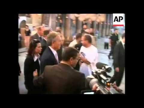WRAP Middle East envoy Blair visits church of Nativity, meets Abbas