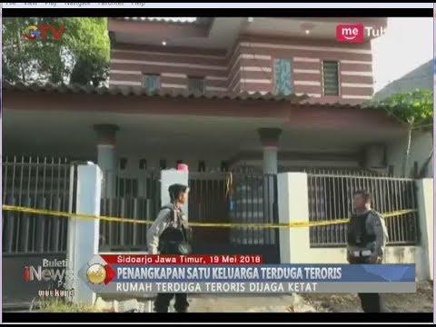 Densus 88 Amankan Satu Keluarga Terduga Teroris di Sidoarjo - BIP 20/05