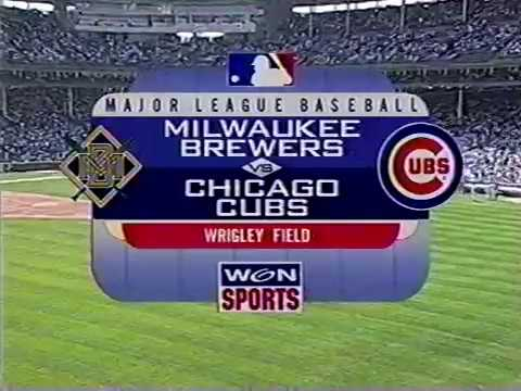 WGN open Cubs baseball 1998