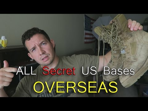 US Navy Bases OVERSEAS - All Locations