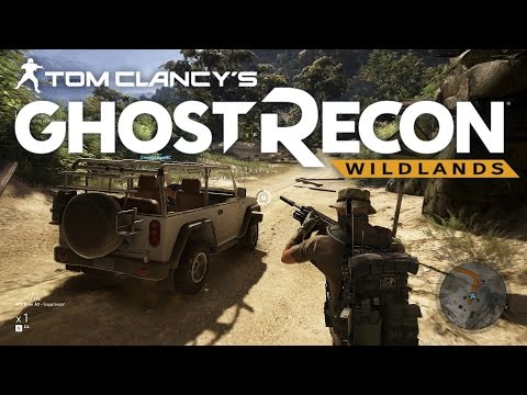 Ghost Recon - Father & Son vs. The Drug Cartel! - Part 2 (Ghost Recon Wildlands Co-op)