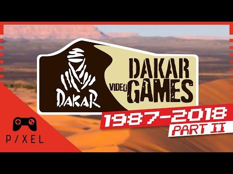 DAKAR GAMES :: Part 2 [1987-2018]   It's a Pixel THING - Ep. 134