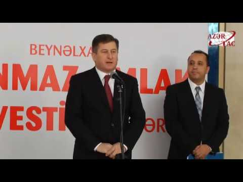 Azerbaijan International Real Estate and Investment Exhibition opened it doors in Baku - AZERTAC
