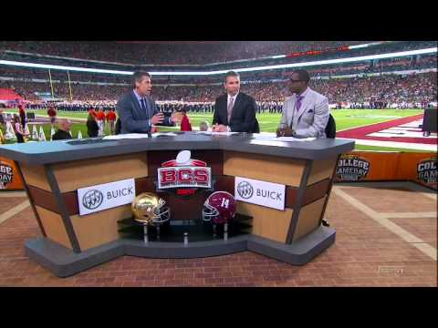 2013 BCS National Championship - #2 Alabama vs #1 Notre Dame