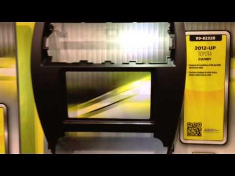 CES 2013 Metra Electronics Toyota Camry Dash Kit 99-8232B for double din radio LAS VEGAS