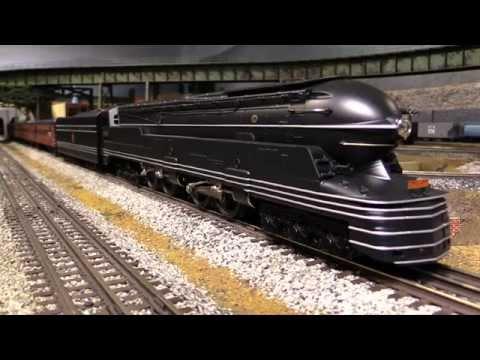 MTH Pennsylvania 6-4-4-6 S1 Passenger Set