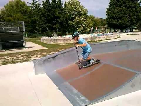 Skate parc de ST Paul Trois Chateaux