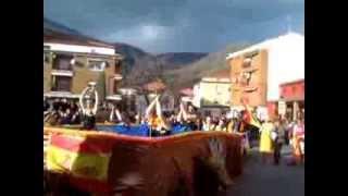 """Carnaval Losar de la Vera 2014. """"Los apañaos"""" Natacion sincronizada"""