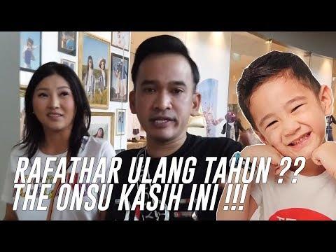 The Onsu Family - RAFATHAR ULANG TAHUN ?? THE ONSU KASIH INI !!!!
