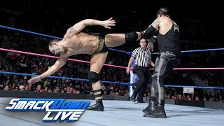 Tye Dillinger vs. Baron Corbin: SmackDown LIVE, Oct. 3, 2017