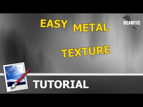 How to Make a Metal Texture in Paint.NET