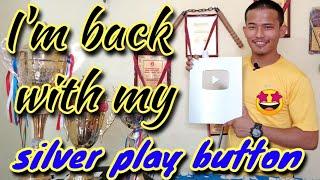 My silver play button | my silver play button unboxing | YouTube awards 2021