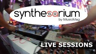 Dmitriy Churikov & Grisha Markov - synthesarium live sessions (NAMM Musikmesse Russia 2017)