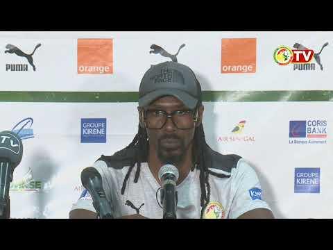 Conférence de presse d'aprés match Sénégal vs Zambie 3-1