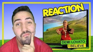 REACTION || DJ Khaled & Demi Lovato - I Believe