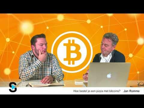 Pizza bestellen met Bitcoins