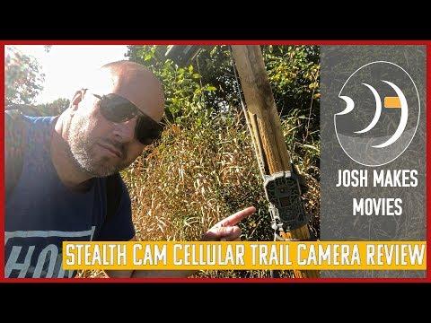 Stealth Cam WXV WXA 3 week cellular trail camera review
