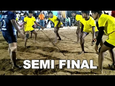 SF| PK sports club jolarpettai Vs Sai kabaddi team Bangalore |New Year Kabaddi tournament Hosur